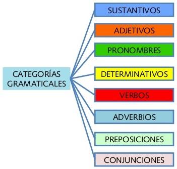 Ejemplo De Categoría Gramatical