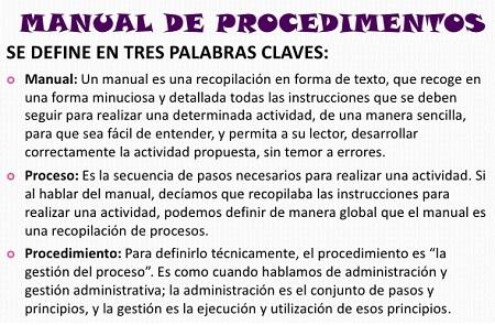 Ejemplo de manual de procedimientos for Ejemplo de manual de procedimientos de un restaurante